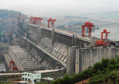 1. Drei-Schluchten-Talsperre, China