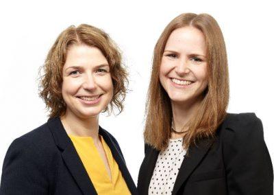 Human Resources Department of Surplex: Katja Sankowski (l.) and Karin Schneider (r.)